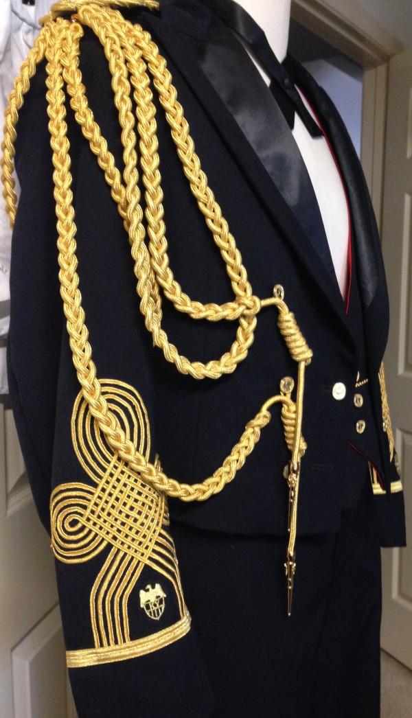 KY Colonel 1932 replica custom uniform